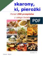 Makarony,kluski,pierożki-250 przepisów-Kuchnia TV