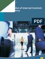 Checklist of Internal Controls for Treasury