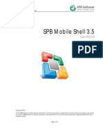 SPB Mobile Shell User Manual