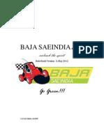 Rulebook BAJA 2012