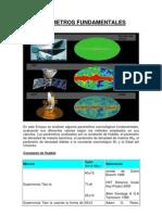Parámetros fundamentales astronómicos