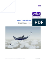 Orbx Lancair IVP User Guide