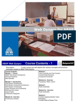 51086318 ABAP Web Dynpro Training Material