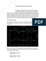 Physics of Semiconductors Part II