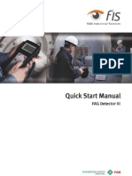 FAG Detector III - Quick Start Manual