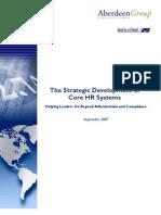Strategic Core Hr System