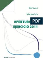 Manual Apertura Eurowin