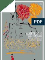 Programa Fiestas Algete 2011