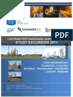 Laporan Pertanggung Jawaban Study Excursie 2011