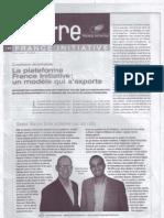 Le journal La Lettre France Initiative Fevrier 2008