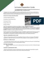 CLB-6 Hurricane Preparation Guide