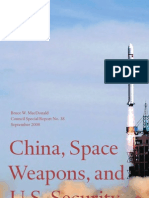 China, Space Weapons, And U.S. Security_CSR38