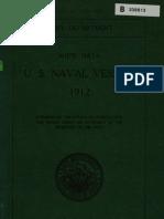 Ships Data US Naval Vessels 1912