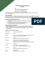 UT Dallas Syllabus for psci3355.001.11f taught by Michael Gunnin (mmg052000)