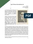 The Age of Professor Narmadeshwar Jha