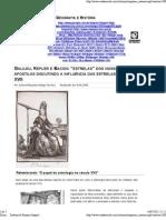 XVII - Galileu, Kepler e Bacon_ estrelas dos nossos livros e apostilas discutindo a influência das estrelas no século XVII