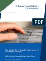 Les atouts de la fiscalité belge pour les français