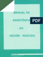 MANUAL DE ASSISTÊNCIA AO RECÉM NASCIDO