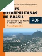 BID - Regiões Metropolitanas no Brasil