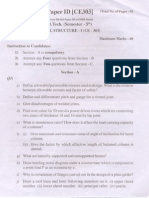 (Www.entrance-exam.net)-PTU B. Tech Civil Engineering-5th Semester- Design of Steel Structures Sample Paper 1