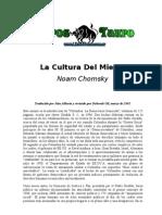 Chomsky, Noam - La Cultura Del Miedo