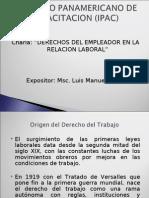 Charla Derechos Del Empleador en La Relacion Laboral