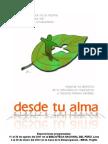 DESDE TU ALMA  (por Pepe Sanmartín)