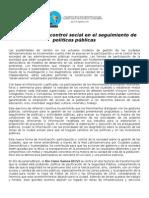 Release3 - Control Social II Encuentro