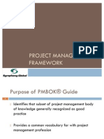 02-03 Project Management Framework