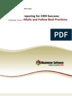 3 Keys to Preparing for CRM Success