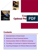 Coaching for Optimal Performance 284