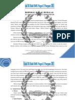 Proposal Halal Bi Halal tang