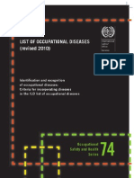 Occupational Disease Revised 2010 (ILO)