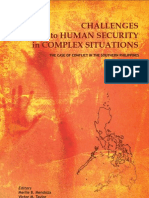 Challenges to Human Security in Complex