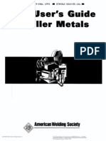 American Welding Society User 039 s Guide to Filler Metals