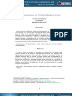 Port a Folio Educativo Virtual