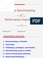 Airline Bench Marking and Performance Improvement