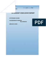 United Bank Limited Internship Report 2010