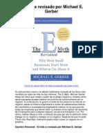 El mito e revisado por Michael E Gerber - 5 estrellas revisión