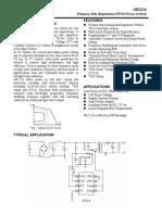 Circuito Regulador de Voltaje Ob2216