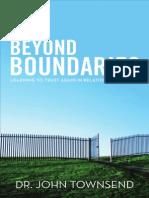Beyond Boundaries by John Townsend, Excerpt