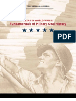 Oral Military History Guide
