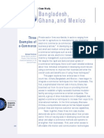 Bangladesh Ghana Mexico Casestudy