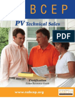 FINAL NABCEP PV Tech Sales Resource Guide 11-17-10