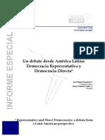 Democracia Representativa y Democracia Directa La Ti No America