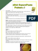 Sponge Bob Pattern