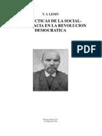 DOS TÁCTICAS DE LA SOCIALDEMOCRACIA EN LA REVOLUCIÓN DEMOCRÁTICA