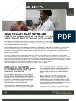 Army Primary Care Physicians