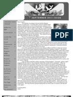 September 2011 Black and Pink Newsletter