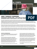 Army Thoracic Surgeons